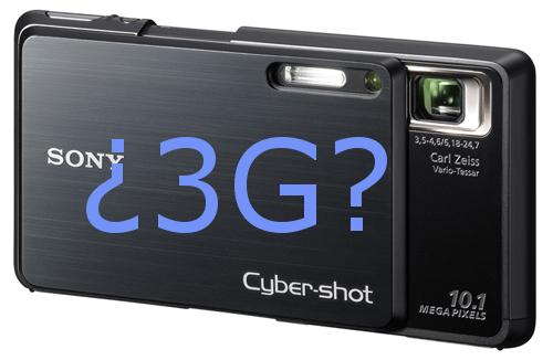 ¿Una cámara compacta con 3G? Sony podría estar trabajando en ello