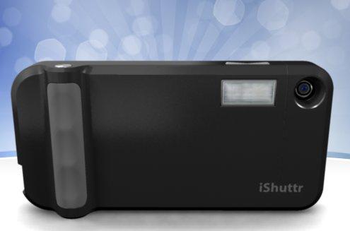 La carcasa iShuttr convierte el iPhone en cámara digital