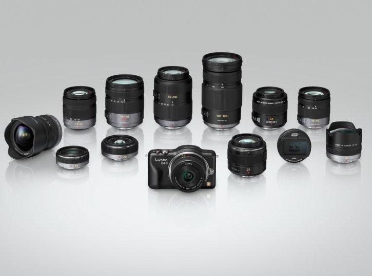 Comparativa: Panasonic Lumix GF3 vs Sony NEX C3