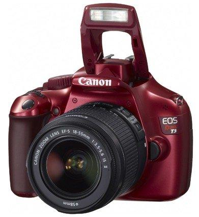 Canon se une a los colores, la Canon 1100D ahora disponible en tres colores