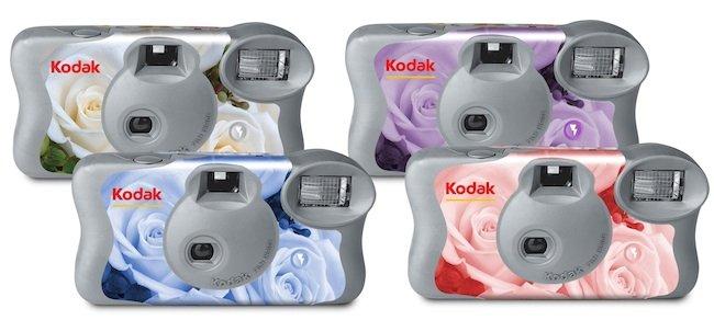 Kodak y las nuevas cámaras desechables para bodas