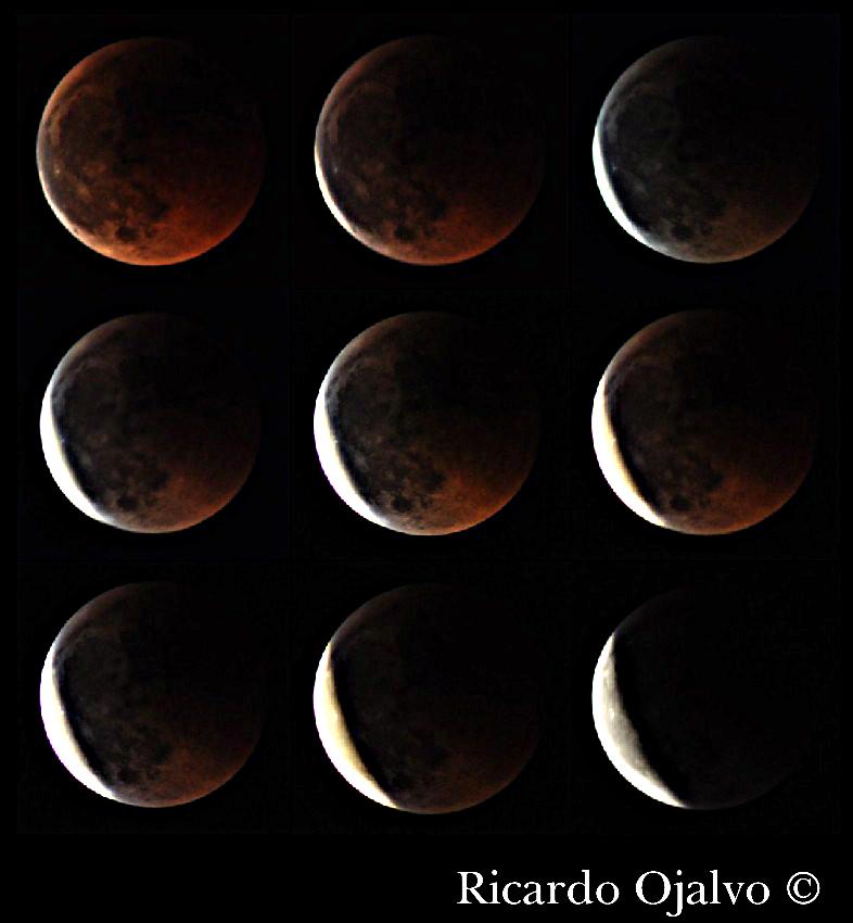 Fotografiando el eclipse de luna