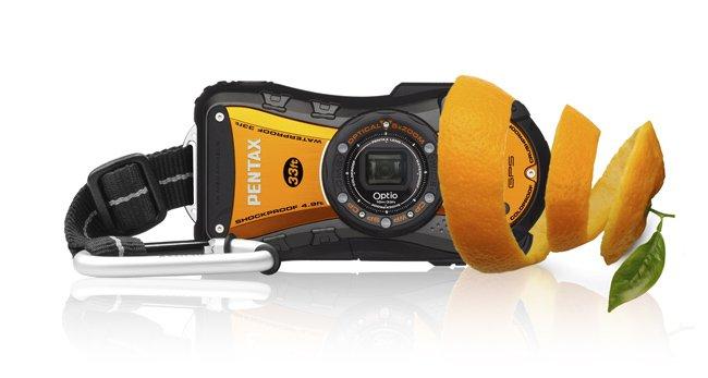 La Optio WG1-GPS de Pentax cambia su estética