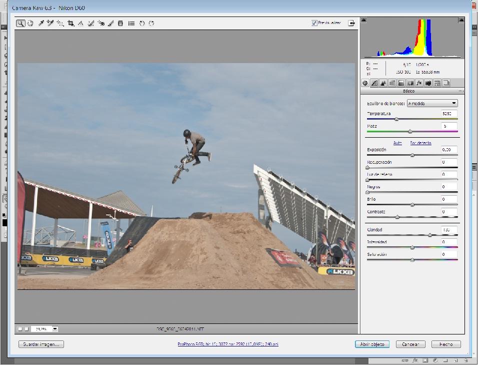 Formatos de imagen: RAW (II)