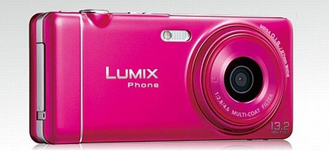 Panasonic Lumix Phone P-05C, la nueva cámara móvil de Panasonic