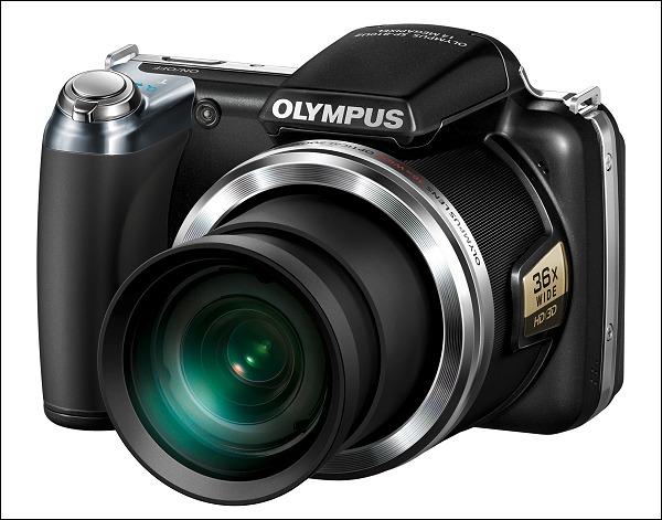 Olympus ha decidido alargar el zoom de la SP-800 UZ a 36x