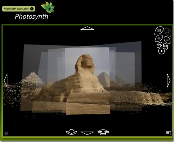 Photosynth, un programa para hacer fotos a espacios grandes