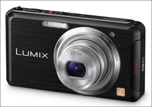 Llega la nueva Panasonic Lumix FX90 con Wi-Fi incorporado