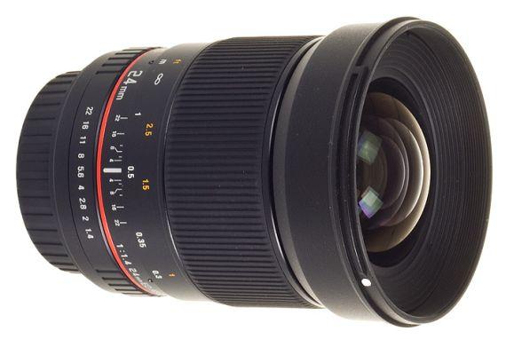 Samyang presenta su nuevo objetivo de 24 mm y f1.4
