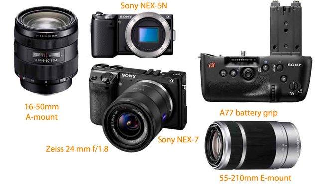 Novedades de la nueva Sony NEX-7
