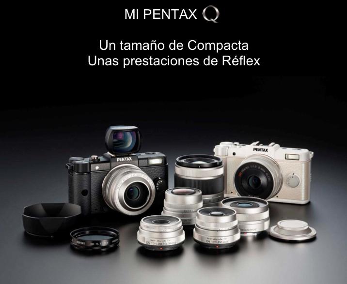 Pentax Q, cuando el diseño prima sobre la funcionalidad