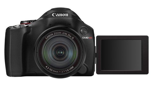 Canon PowerShot SX40HS, nueva cámara con ultra zoom