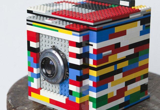 Legotron, una cámara oscura a base de piezas de lego