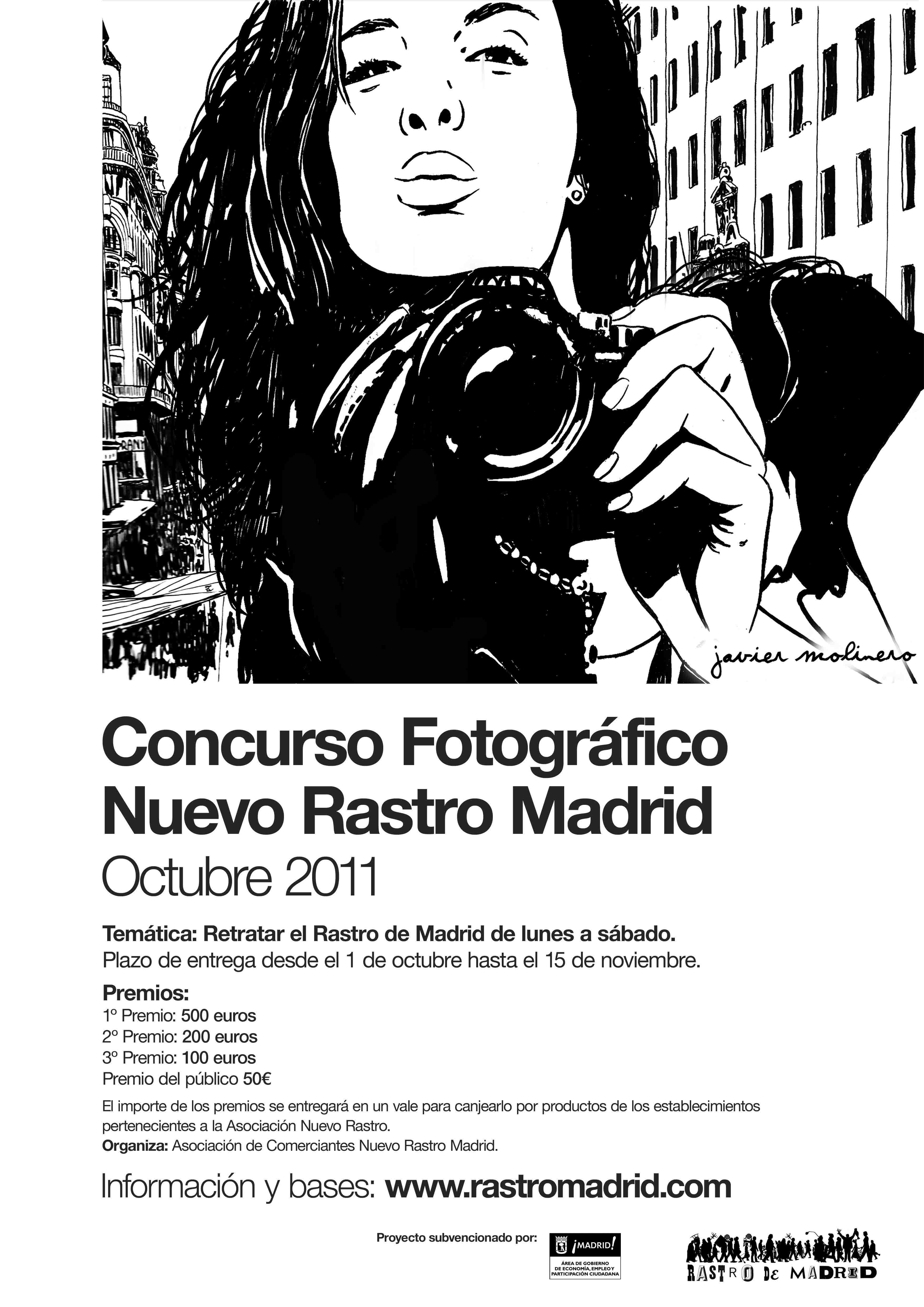 Llega el I Concurso Fotográfico Nuevo Rastro de Madrid