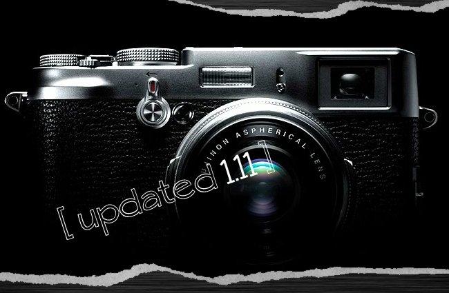 Una nueva actualización de la Fujifilm Finepix X100 ya está aquí