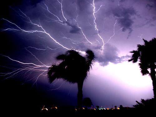 Fotografiar tormentas, busca un lugar seguro
