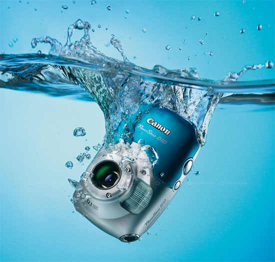 Cómo arreglar la cámara si cae al agua