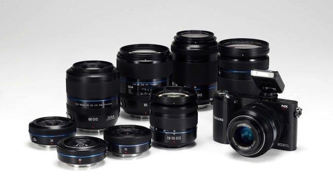 Samsung presentará una nueva saga de cámaras XN sin espejo para enero