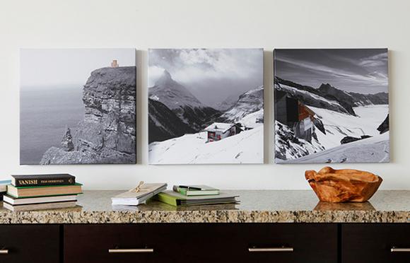 Canvaspop, fotografías montadas desde casa