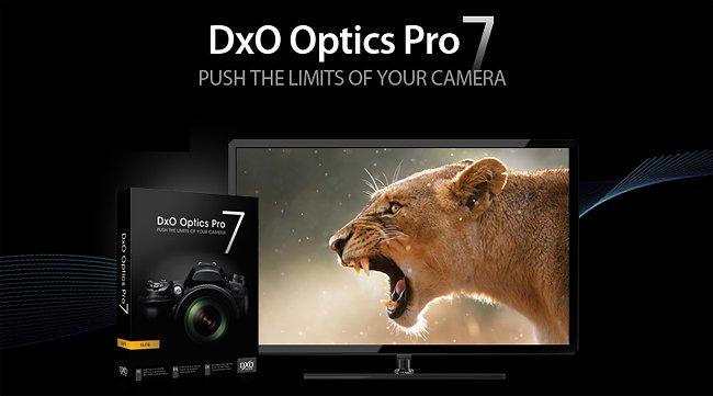 El DxO Optics Pro 7 ya está aquí