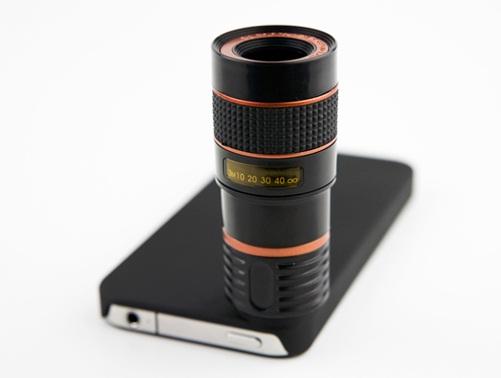 Objetivo de 400mm disponible para iPhone