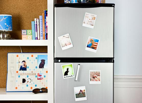 Regalos para fotógrafos: marco imán de Polaroid