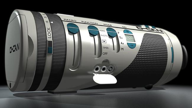 D-CAN, la cámara cilíndrica de Jean Michel Bonnemoy