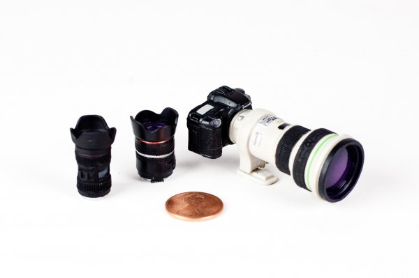 Preciosa cámara en miniatura