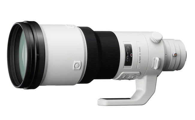 Sony G 500 f4 SSM, el nuevo objetivo de Sony