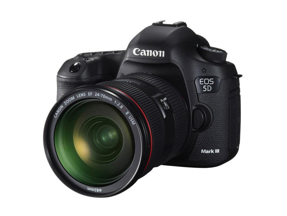 Ya es oficial la nueva Canon EOS 5D Mark III