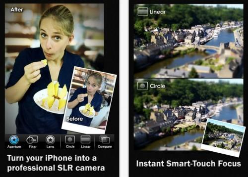 Big Lens, el programa de Apple para convertir las fotografías en bokeh