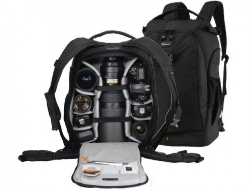 Flipside 500 AW, la nueva mochila de Lowepro