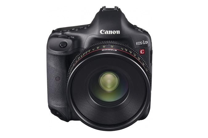Canon anuncia su nueva 1D-C, centrada en el vídeo