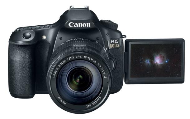 Canon mira al cielo y presenta la EOS 60Da