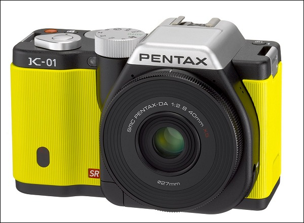 ¡La Pentax K-01 se lleva un Red Dot Design Award!