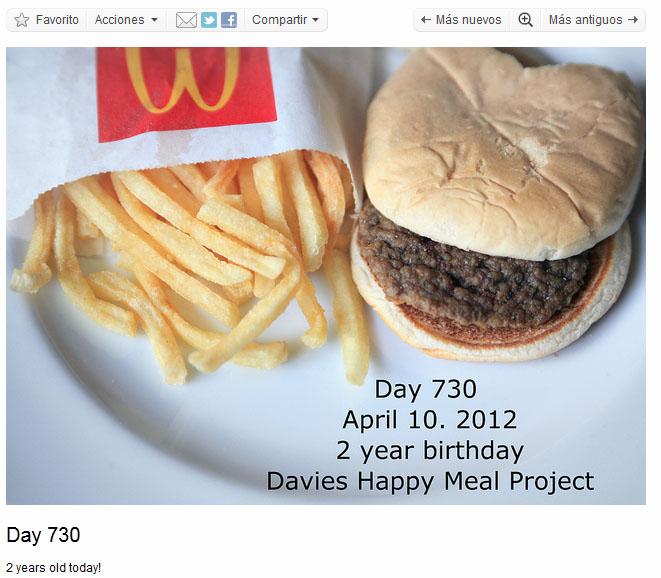 La hamburguesa de Sally cumple dos años
