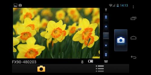 Aplicación oficial de Panasonic para smartphones para su cámara FX90