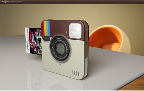 Sacan un prototipo de cámara con el icono de Instagram