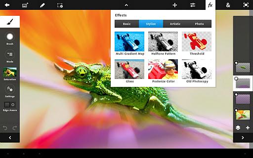 Llega la actualización del Adobe Photoshop Touch