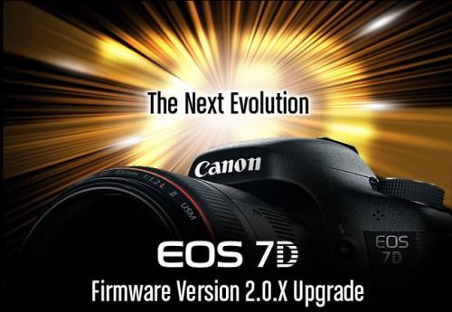 La Canon EOS 7D mejorará gracias a un nuevo firmware