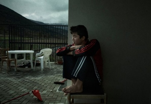 Álvaro Deprit, ganador del premio OjodePez de Valores Humanos de 2012 en PHotoEspaña