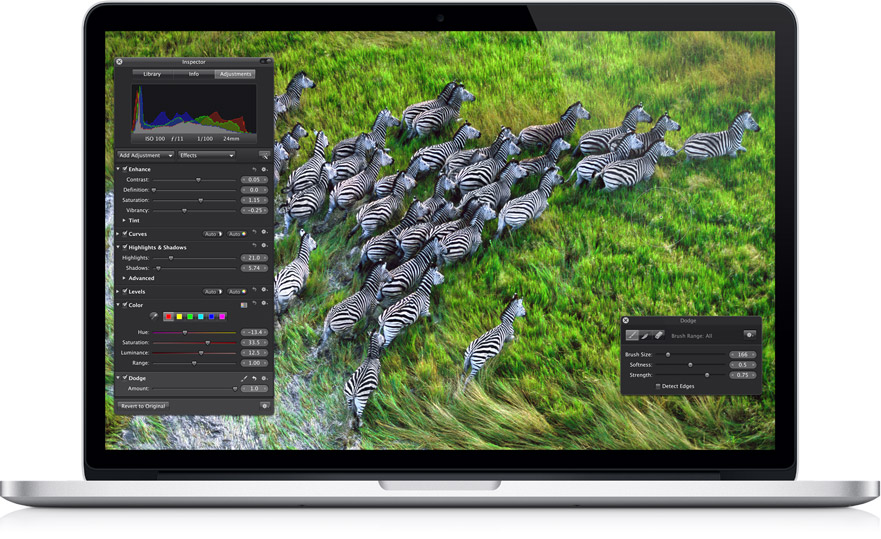 Macbook Pro con pantalla retina: ¿un disparate?