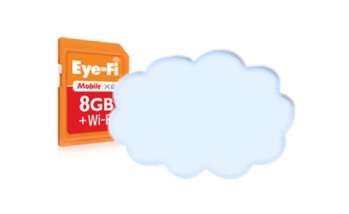 Eye-Fi quiere tener también una nube