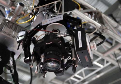 Los chicos de Reuters usarán cámaras robotizadas en los Juegos Olímpicos de Londres