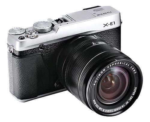 La nueva Fujifilm X-E1 podría aparecer muy pronto