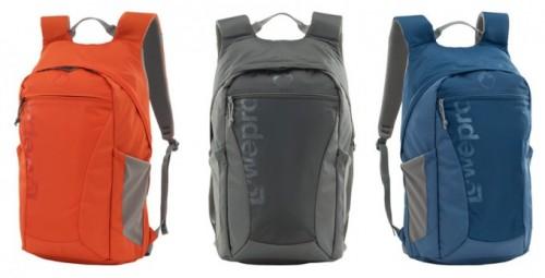 Nuevas mochilas de Lowepro para las cámaras réflex