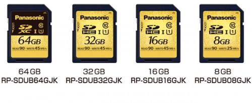 Panasonic presenta nuevas tarjetas SD