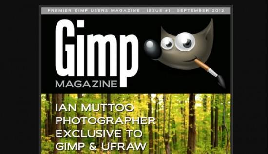 Gimp Magazine, la revista digital del programa de retoque Gimp
