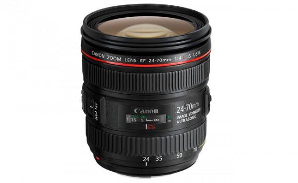 Nuevos objetivos de Canon; EF 24-70 mm f4L IS
