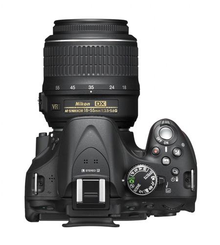 Nikon presenta su réflex D5200